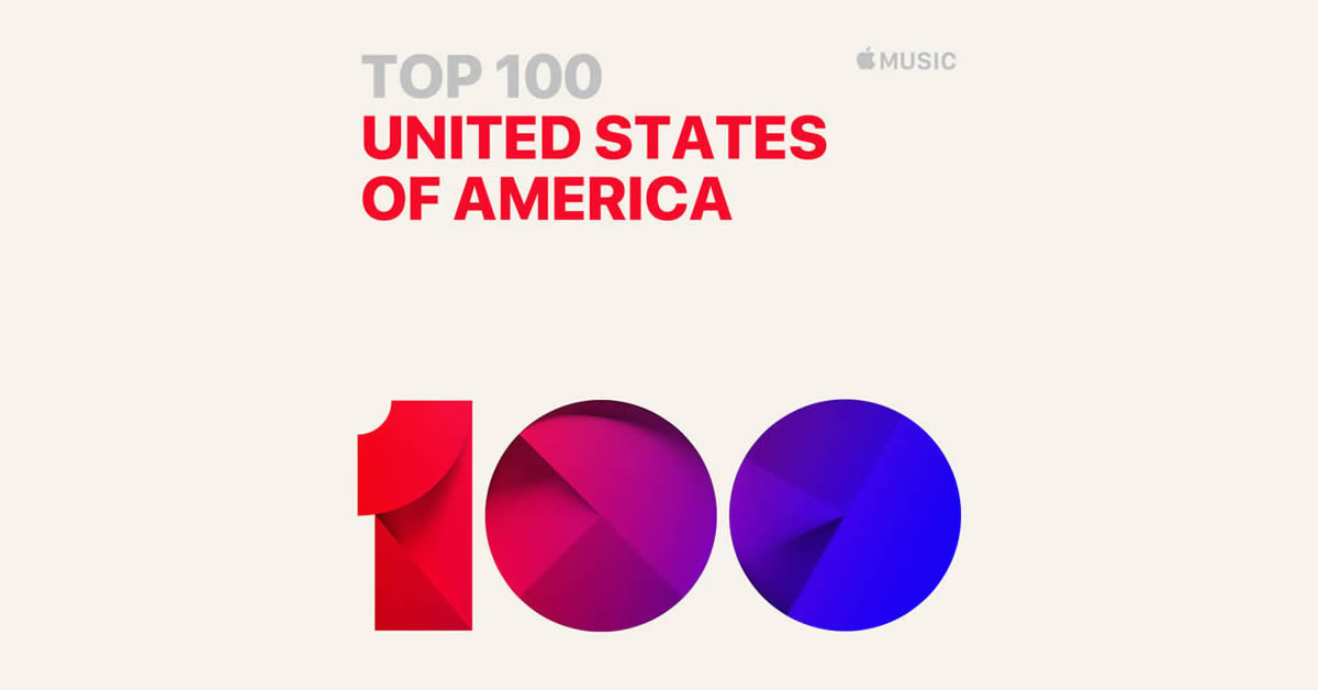 iTunes Top 100 Songs (USA) - The Chart